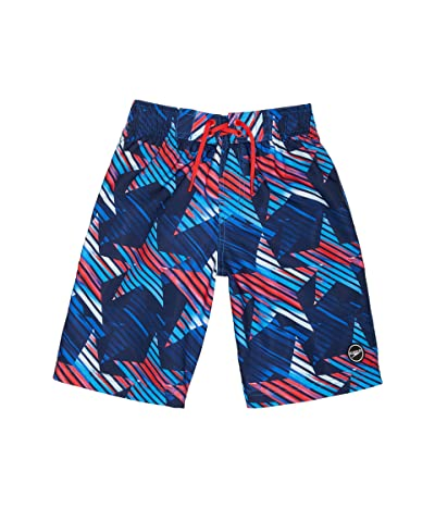 Speedo Kids Printed Boardshorts 17 (Little Kids/Big Kids) Boy