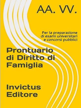 Prontuario di diritto di famiglia