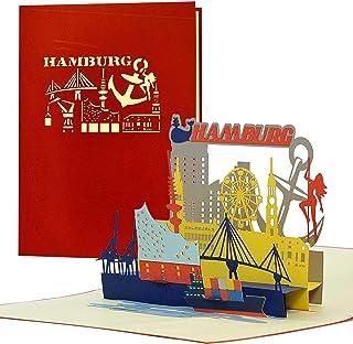 Gutschein, Reisegutschein für Städtereise nach Hamburg|3D
