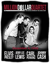 Midsouth Products Million Dollar Quartet Throw Blanket