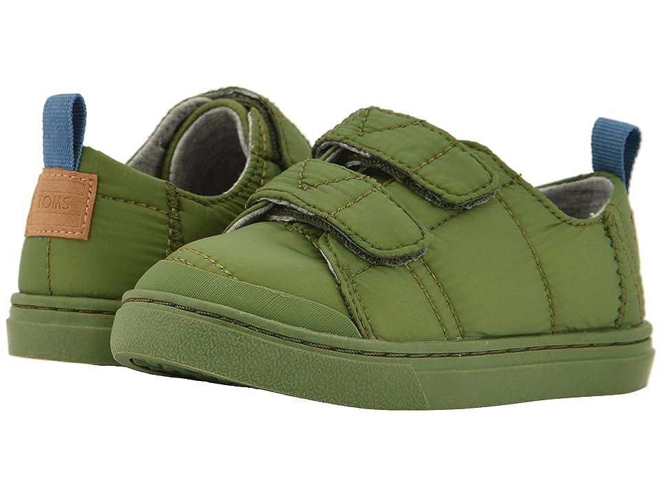 488eaab2eb3 TOMS Kids Lenny (Infant Toddler Little Kid) (Light Pine Quilted) Boy s Shoes