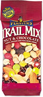 Planters 00027 Trail Mix, Nut & Chocolate, 2oz Bag, 72/Carton