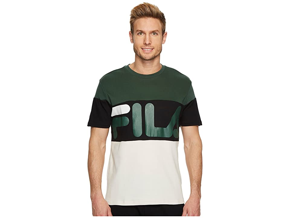 Fila Vialli T-Shirt (Sycamore/Black.Birch) Men