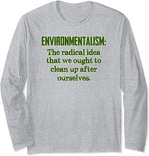 Environmentalist Gifts - Environmentalism Definition Sarcasm Long Sleeve T-Shirt