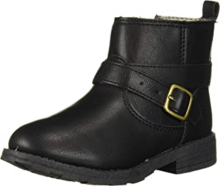 Girl's Cathy2 Ankle-Boot, Black, 12 M US Toddler