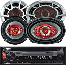 """$119 » Sponsored Ad - 2X Soundxtreme 6"""" 3-Way 350 Watts + 2X SoundXtreme 6x9 4-Way 520 Watts Coaxial Car Audio Speaker CEA Rated ..."""
