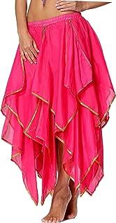 Sequin Chiffon Skirt for Women Costume