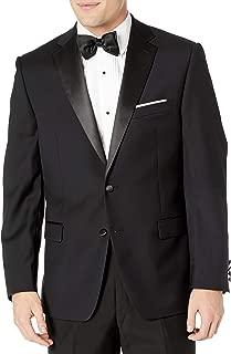 Men's Modern Fit 100% Wool Tuxedo Suit Separates-Custom Blazer & Pant Size Selection