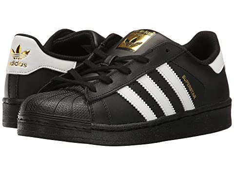 buy popular 0e962 3d74e adidas Originals Kids Superstar C Foundation (Little Kid)