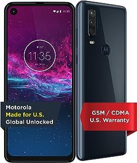 Motorola One Action | Unlocked | Made for US by Motorola | 4/128GB | 16MP Camera | Denim (Renewed)