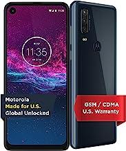 $199 » Motorola One Action   Unlocked   Made for US by Motorola   4/128GB   16MP Camera   Denim (Renewed)
