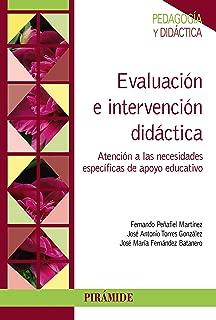 Evaluación e intervención didáctica (Psicología) (Spanish Edition)