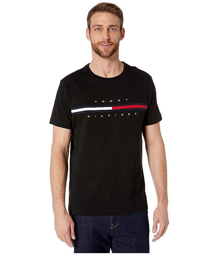Tommy Hilfiger Adaptive  Adaptive Tino Tee (TH Deep Knit Black) Mens T Shirt