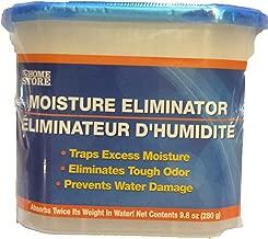 8 pack MOISTURE ELIMINATOR, 9.8 oz tubs Moisture Absorbers