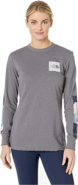 d878020e4 The North Face Long Sleeve Brand Proud Tee | Zappos.com