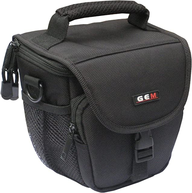 GEM N100178FFS4200S4500 Caja compacta Negro Estuche para cámara fotográfica - Funda (Caja compacta Fujifilm FinePix S4800 S8200 S8300 S8400 S8400W S8500 Negro)