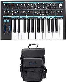 Novation BASS STATION II 25-Key Monophonic USB Keyboard Synthesizer+Carry Bag
