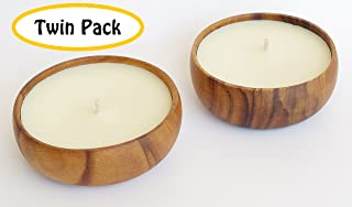 coconut bowl candles