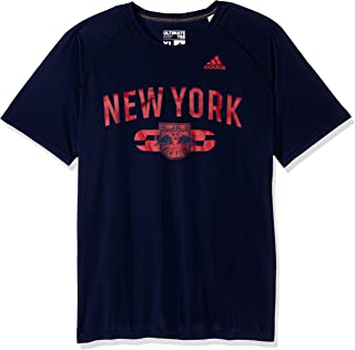 MLS New York Red Bulls Adult Men Sprint Ultimate S/Tee, Large, Collegiate Navy