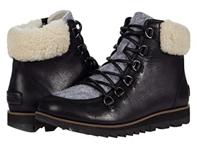 SOREL Harlowtm Lace Cozy (Black) Women