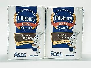 Pillsbury Best - Bread Flour Enriched - 2 Packs 10LB Total (5LB each pack)