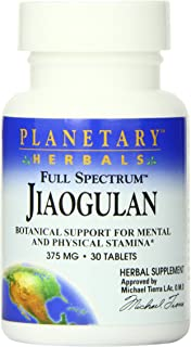 Planetary Herbals Full Spectrum Jiaogulan Tablets, 30 Count