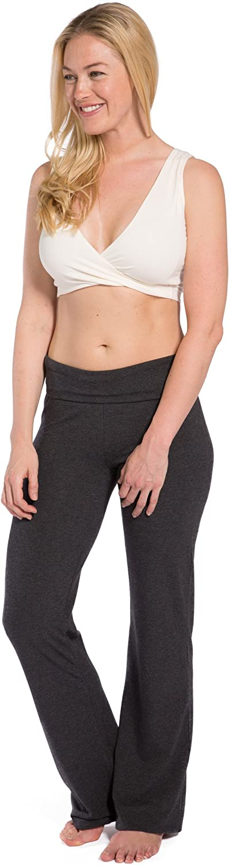Fishers Finery Womens Ecofabric Low Impact Wireless Sleep Yoga Bra