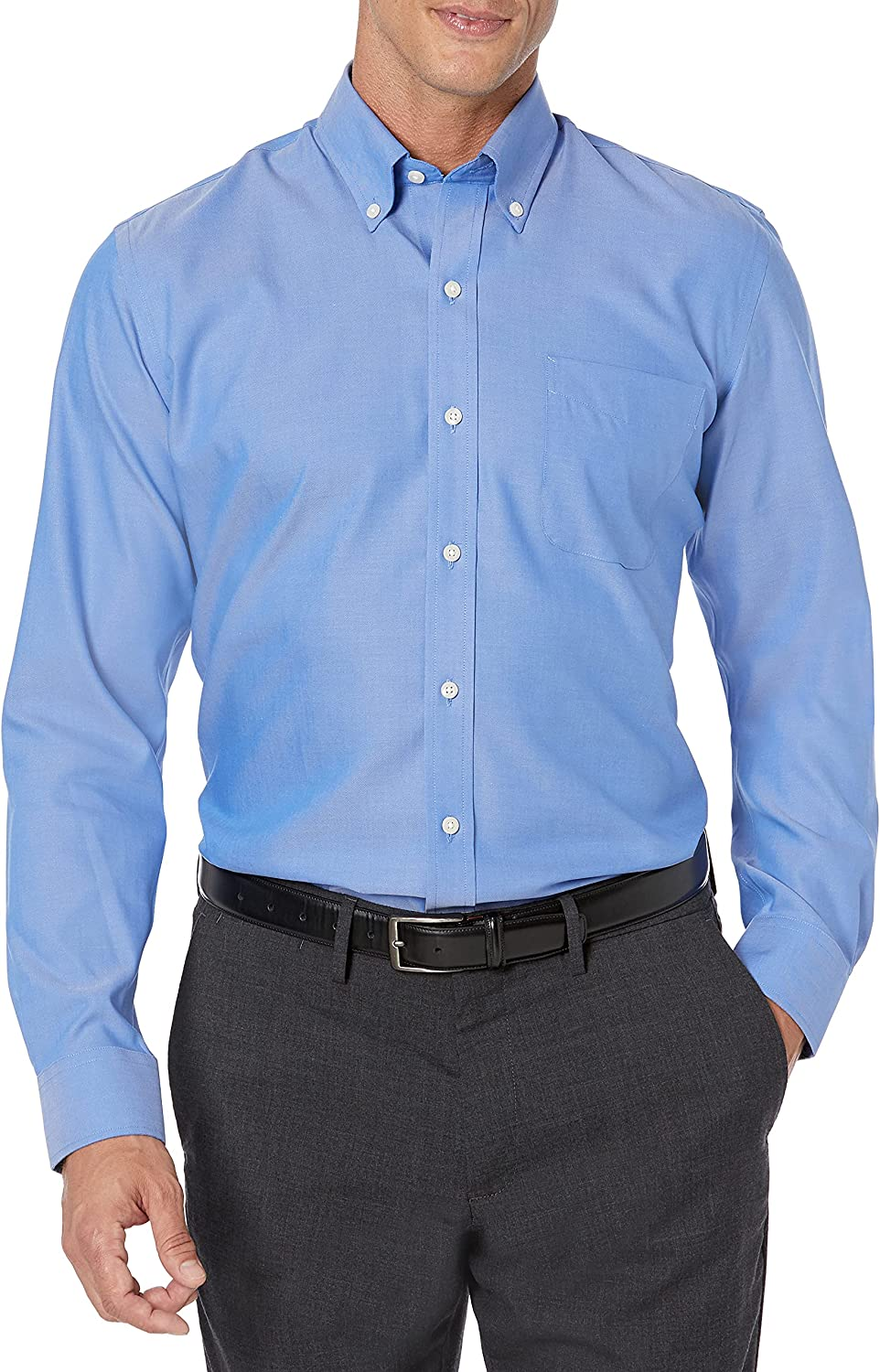 Max 83% OFF Buttoned Down Men's quality assurance Slim Fit Dress Shirt Collar Button Solid