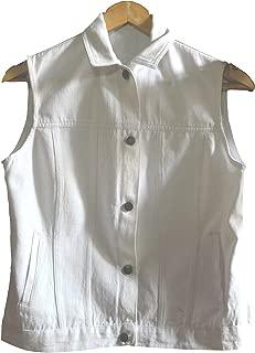 Khadi Selvedge Denim Sleeveless Jacket (Women)