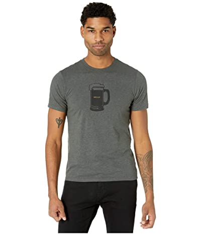Prana Beer Belly Journeyman T-Shirt (Charcoal Heather) Men
