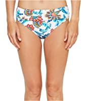 Tommy Bahama - Fira Floral High-Waist Sash Bikini Bottom
