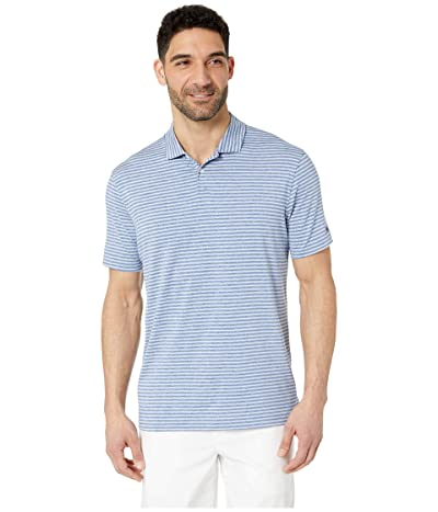 Nike Golf Dry Stripe Polo (Gym Blue) Men