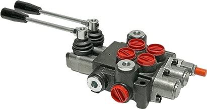 Hydraulic Directional Control Valve 2 spool 13 GPM Flow 4-way Tandem Center