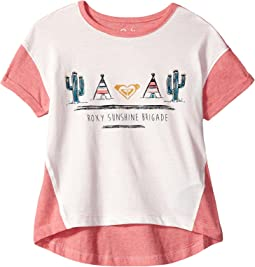 Roxy Kids - We Are Dreamers Tee (Toddler/Little Kids/Big Kids)