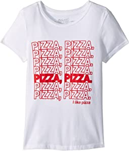 The Original Retro Brand Kids - Pizza Pizza Vintage Cotton Tee (Big Kids)