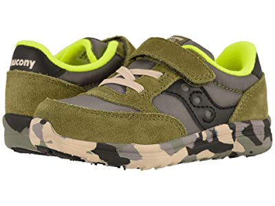 Saucony Kids Originals Jazz Lite (Toddler/Little Kid) (Olive) Kids Shoes