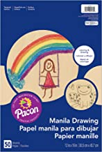 Pacon PAC4139 Manila Drawing Paper, 12