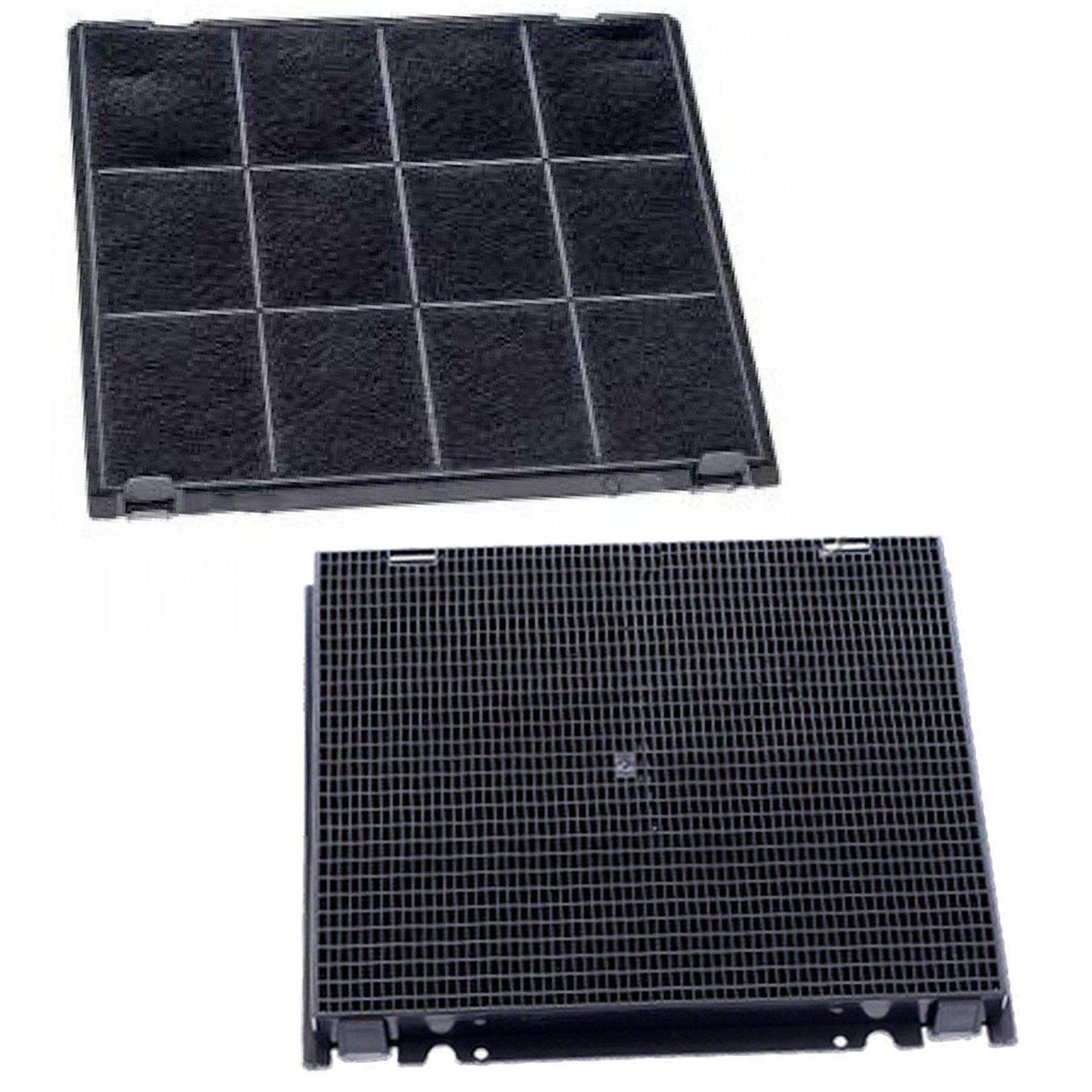 Spares2go - Filtro de carbón para campana extractora Hotpoint-Ariston (240 x 270 mm, 2 unidades): Amazon.es: Hogar