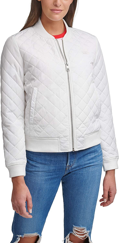 Levi's クリアランスsale 期間限定 Women's Diamond Jacket 特価品コーナー☆ Quilted Bomber