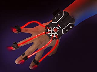 SpyX / Light Hand – LED Light Up Glove Toy for Spy Kids. Cool Flash Light Finger Device to Navigate in The Dark. Elastic L...