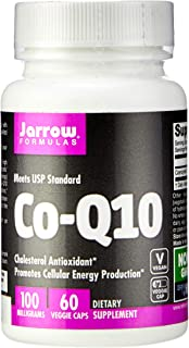 Jarrow Formulas Co-Q10, Promotes Cellular Energy Production, 100 mg, 60 Caps