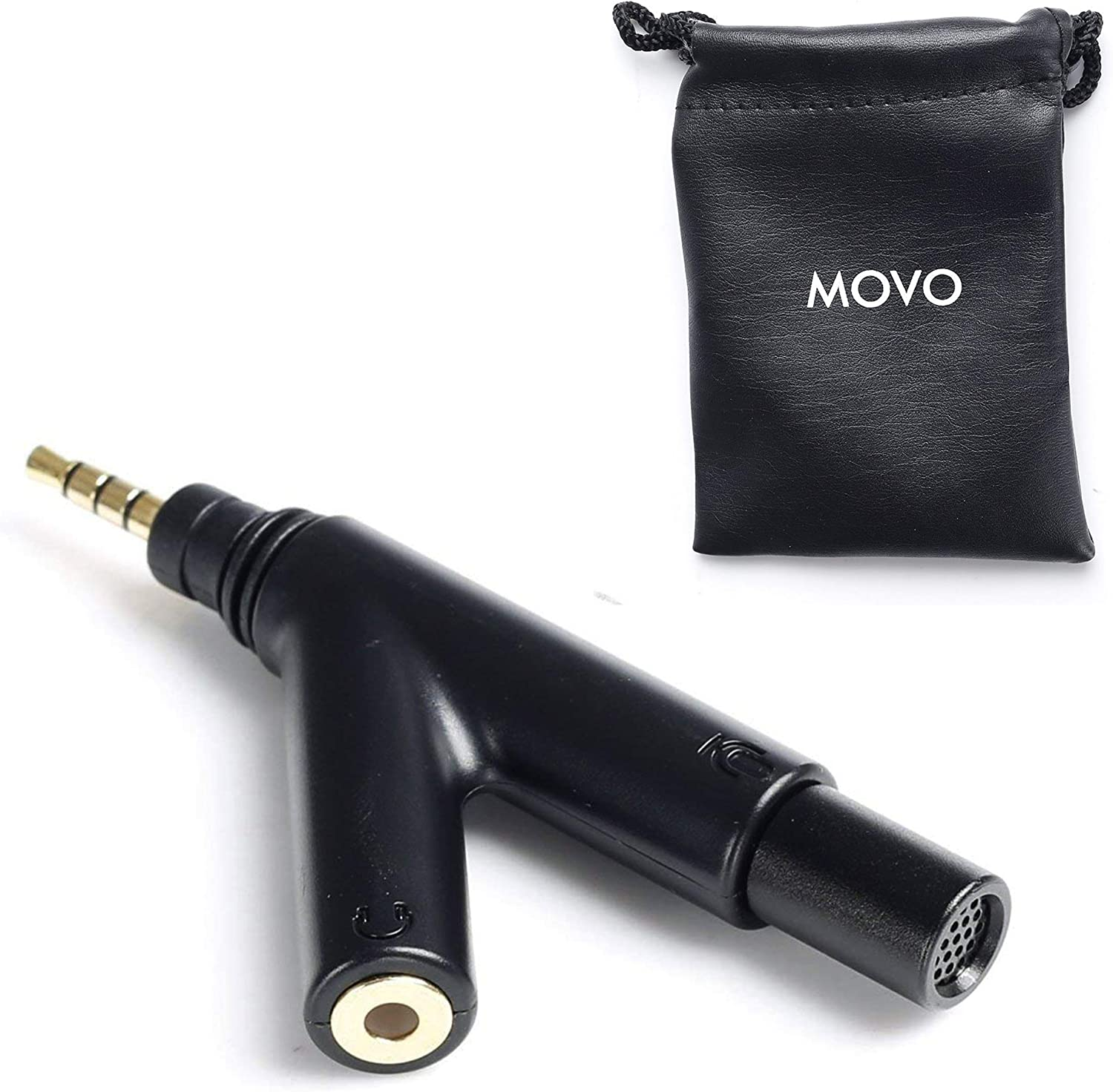Movo MA1000 V-Shape Ranking TOP13 TRRS Headph Microphone Omni-Directional with quality assurance