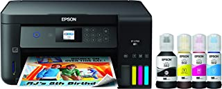 Epson EcoTank  Wireless Color All-in-One Cartridge-Free Supertank Printer with Scanner,..