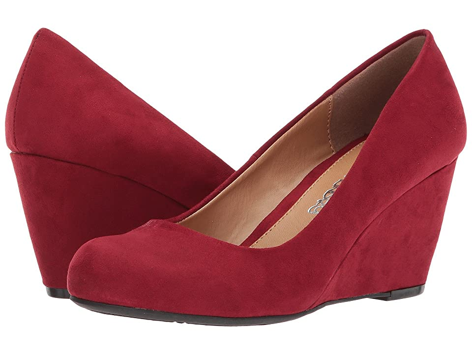 Dirty Laundry DL Not Me Wedge Pump (Cherry Red) Women