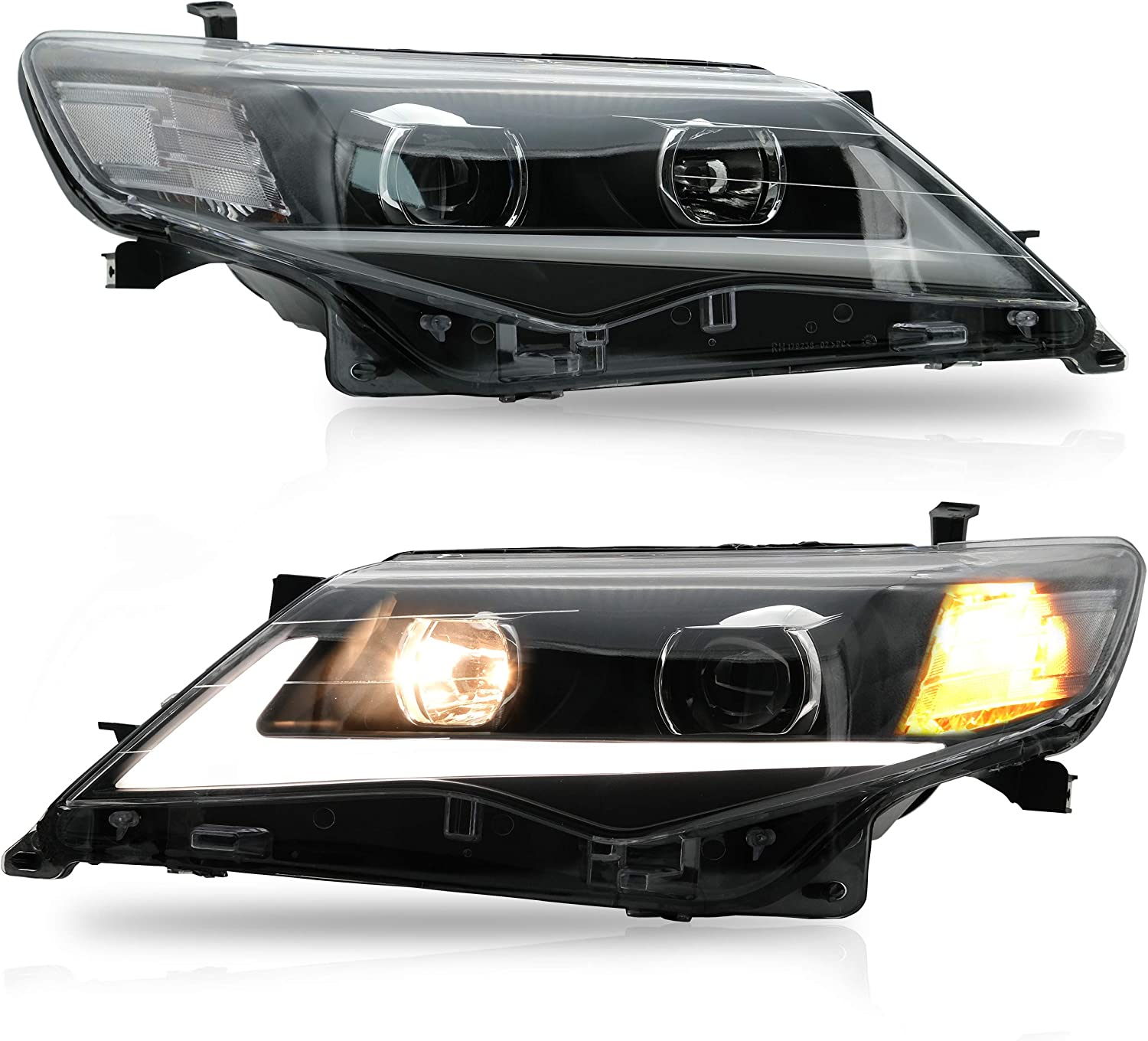 VLAND Headlight Assembly Fit for Toyota 2014 Camry 2013 We OFFer at cheap prices 2012 Bombing new work LE