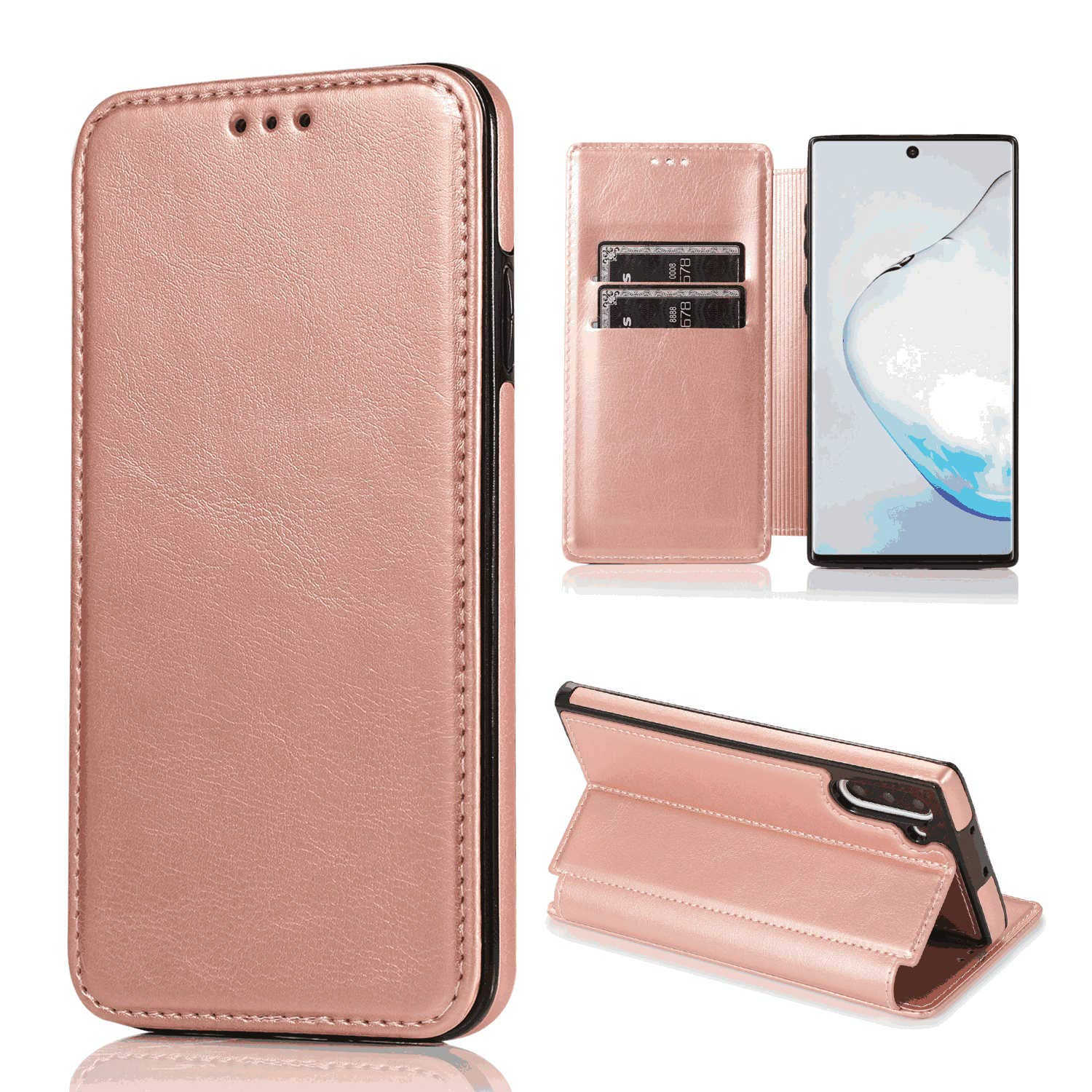 PU Leather Case Compatible with iPhone 7 Cell Phone Business-Design Flip Cover for iPhone 7