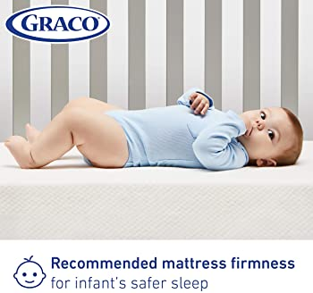 Graco Premium Foam Crib and Toddler Mattress in a Box – GREENGUARD Gold Certified, Non-Toxic, Breathable, Removable W...