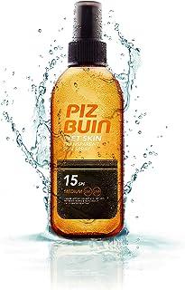 Piz Buin Transparent Wet Skin Spray SPF15, 150 ml