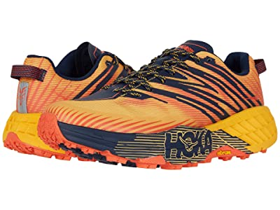 Hoka One One Speedgoat 4 (Gold Fusion/Black Iris) Men
