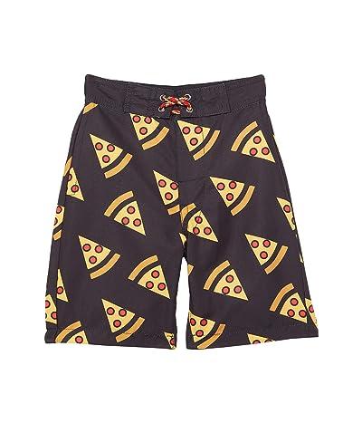 Appaman Kids Pizza Slices Swim Trunks (Toddler/Little Kids/Big Kids)